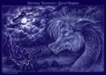 Nature Element: Moon Dragon by Fany001