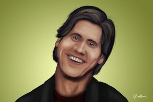 jim carrey by guilhermevargas