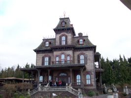 Phantom Manor Exterior by Nightwish91