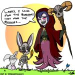 For the...Bunnies!? by Adam-Clowery