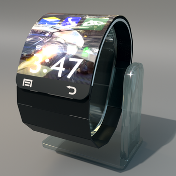 Samsung Flex Watch project by Mikiel2171