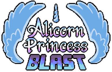 [Alicorn Blast] Game logo by Pix3M