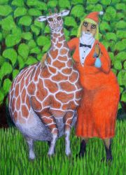Fifi and Giraffe by Soobel