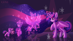 Growing Up [MLP Wallpaper] by Kana-The-Drifter