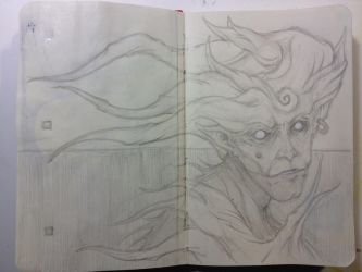 Sketchbook:No sleep to dream. by emonic1