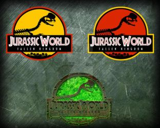 Jurassic World FK Dilophosaurus logos by OniPunisher