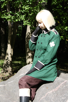 APH: Liechtenstein cosplay 1 by Kata-elf