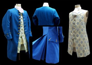 1770's Coat and Vest by WanderingWindward