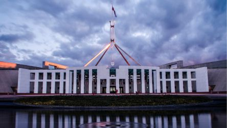 Parliament House - Long Exposure by DOOMGUY1001