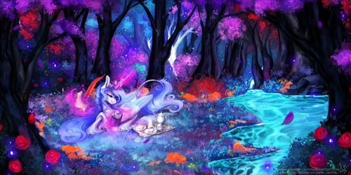 Song of the forest by Wilvarin-Liadon
