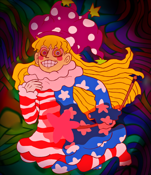 CLOWNPIECE!!!!! by Commandersnacks