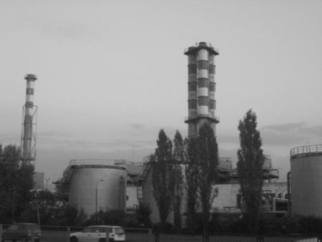 warsaw as a chernobyl by Silafein