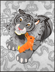 Year of the Metal Tiger by carnivalcat