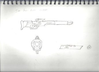 EP: Ion Sniper Rifle (conceptual design) by Sable-The-Wolf