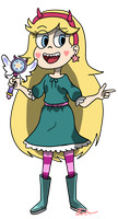 Star's new outfit-SVSTFOE by Franci-Bases