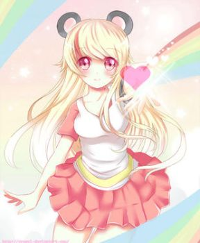 C: Rainbow Love (Full View for Animation) by Ayasal