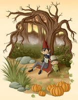 39 39 trust 39 39 gravity falls and over the garden wall by Into the unknown over the garden wall