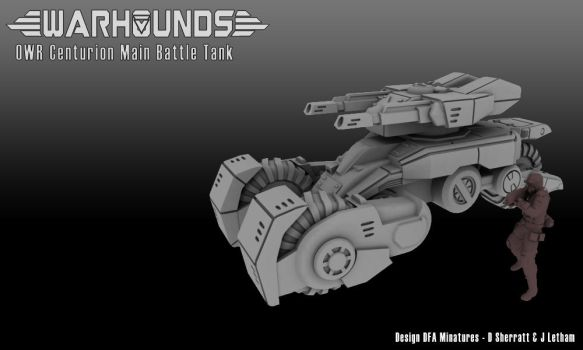 Outworlds Republic Centurion Battle Tank by dsherratt74