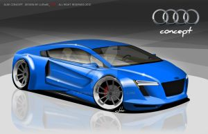 Audi Concept A9 by ARTriviant