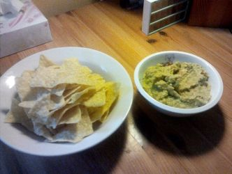 Tortillas and Homemade Guacamole by Vex2001