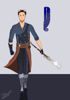 (Rwby oc) - Horatio Mella by Silverado98