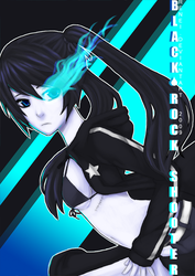 Black Rock Shooter by renei