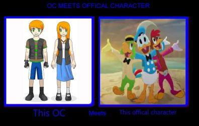 Will and Emily meets The Three Caballeros by WillDynamo55