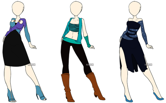 Fashion Adoptables 5 - CLOSED by Karijn-s-Basement