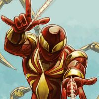 Daily Sketches The Iron Spider by fedde