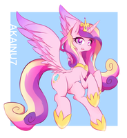 Princess Cadance by AKAINU7