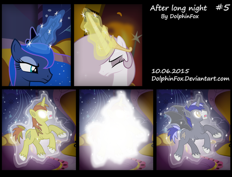 After long night #5 by DolphinFox