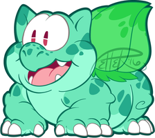 PM bulbasaur by MrsDrPepper