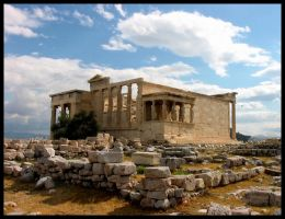 Greece clouds by DarknessHope