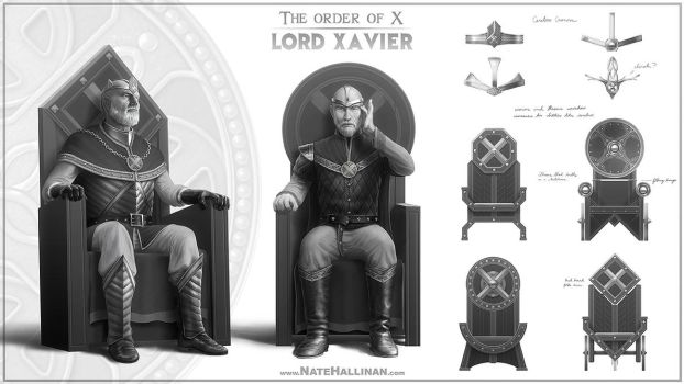 The Order of X - Lord Charles Xavier by NateHallinanArt