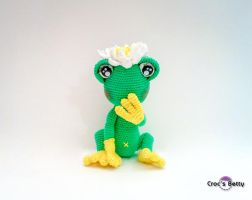 Lily the Frog by Crocsbetty