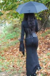 Gothic Girl6 by ftourini-stock