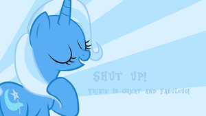 Trixie Wallpaper with Quote by SigHoovestrong