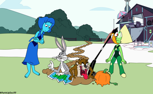Looney Tunes and Steven Universe Crossover by WhatsUpDoc99