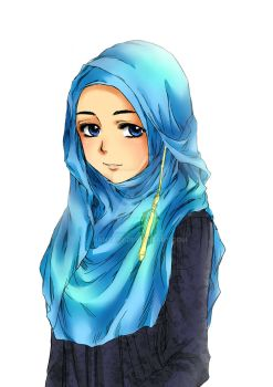 Hijab Girl Collection-3 by Hanza96