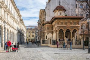 Romania for ever - Sunday morning in old town by Rikitza