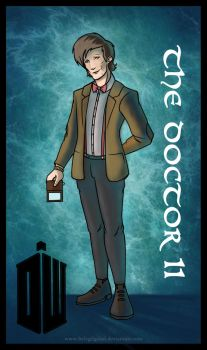 11 Doctor Who-Card by Belegilgalad