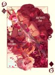 Queen of diamonds by Ravennist
