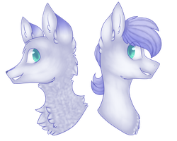 Poneh n Wolfy by CheesyHus