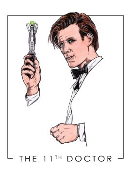 DOCTOR WHO - THE 11th DOCTOR by GentlemanNerd