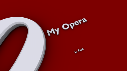 My Opera is fast by Emoryy