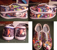 Homestuck Shoes by lulugurl101