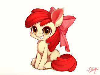 Apple Bloom by ciciya9318