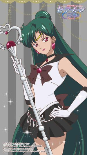 Sailor Pluto - SM Crystal Season 3 by xuweisen