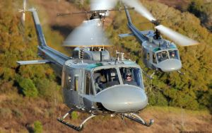 UH-1H Iroquois helicopters by gandiusz