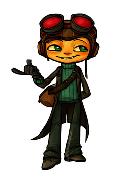 Psychonauts 2 - The new outfit by Nara-chann